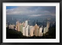 Framed View From The Peak, Hong Kong, China