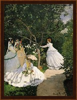 Framed Women in the Garden, 1867