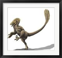 Framed Balaur bondoc, a strange Romanian dromaeosaur