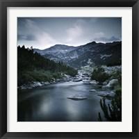 Framed Small river in the mountains of Pirin National Park, Bansko, Bulgaria