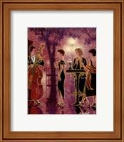 Framed Les 3 soeurs