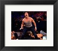 Framed Dean Ambrose 2014 Summer Slam Action
