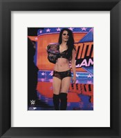 Framed Paige 2014 Summer Slam Action