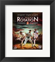 Framed Detroit Tigers Cy Young Rotation Composite
