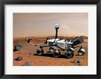 Framed Concept of NASA's Mobile Robot for Investigating Mars