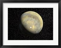 Framed Global View of Mars