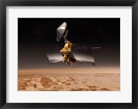 Framed NASA's Mars Reconnaissance Orbiter
