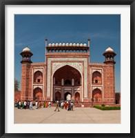 Framed Royal Gate, Taj Mahal, Agra, India