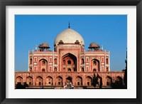 Framed Humayun's Tomb, Delhi, India
