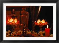 Framed Hindu Prayer Altar, India
