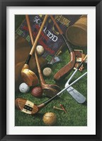 Framed Golf Antiques