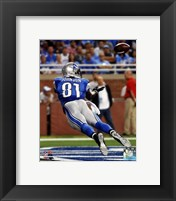 Framed Calvin Johnson 2014 Action