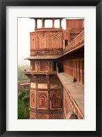Framed Agra Fort, Agra, Uttar Pradesh, India