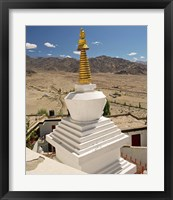 Framed Buddhism, Gompas and Chortens, Ladakh, India