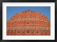 Framed Hawa Mahal (Palace of the Winds), Rajasthan, India