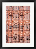Framed Hawa Mahal (Palace of Winds), Jaipur, Rajasthan, India