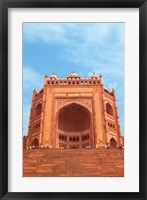 Framed Gate, Jami Masjid Mosque, Fatehpur Sikri, Agra, India