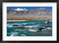 Framed India, Ladakh, Indus River, Himalaya range