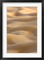 Framed Abstract of Sand Dunes at Sunset, Thar Desert, Jaisalmer, Rajasthan, India