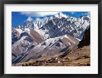 Framed India, Ladakh, Bodh Kharbu, Srinagar-Leh road