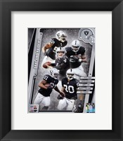 Framed Oakland Raiders 2014 Team Composite
