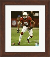 Framed Michael Floyd 2014 with the ball