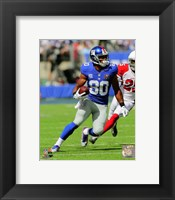 Framed Victor Cruz football 2014