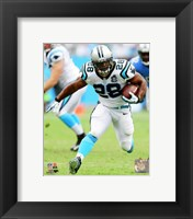 Framed Jonathan Stewart with the ball 2014