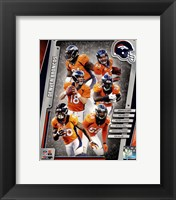 Framed Denver Broncos 2014 Team Composite