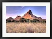 Framed Landscape of Padar Island, Komodo National Park, Indonesia