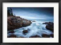 Framed Dawn in Acadia