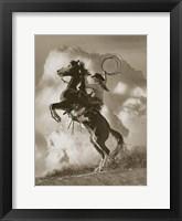 Framed Buckeye Beauty