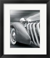 Duesenberg in Motion Framed Print