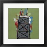 Framed Chicago Tower