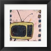 Framed Yellow TV