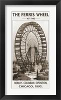 Framed Ferris Wheel, 1893