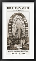 Framed Ferris Wheel, 1893