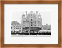 Framed Atlantic City's Marlborough-Blenheim Hotel, ca. 1908
