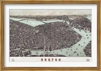 Framed Boston, Massachusetts, 1899