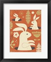 Framed Pop up Bunny