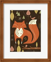 Framed Fox in the Woods