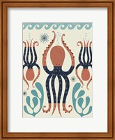 Framed Octopus Garden