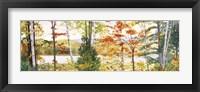 Framed Autumn Lake III