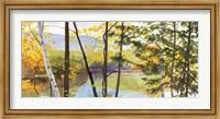 Framed Autumn Lake IV