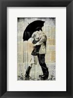 Framed Black Umbrella