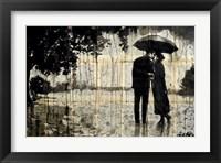 Framed Rainy Day Rendezvous
