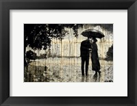 Framed Rainy Day Rendezvous