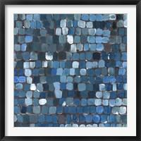 Framed Cobalt Cobbles
