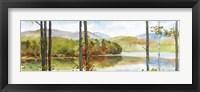 Framed Autumn Lake I