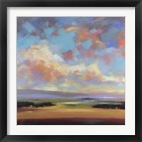 Framed Sky and Land III